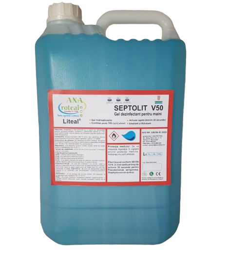 Gel dezinfectant maini 5L